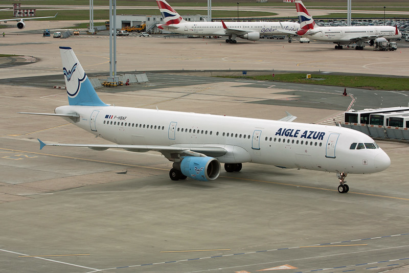 F-HBAF Airbus A321-211 c/n 1006 Paris-Orly/LFPO/ORY 27-03-10