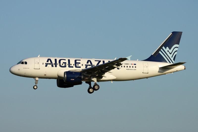 """F-HBMI Airbus A319-113 """"Aigle Azur"""" c/n 0639 Paris-Orly/LFPO/ORY 08-06-15"""