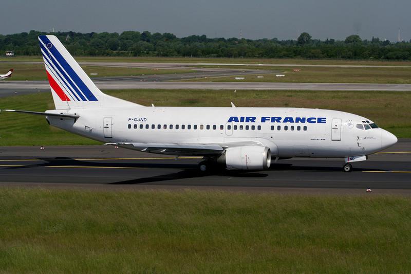 F-GJND Boeing 737-528 c/n 25229 Dusseldorf/EDDL/DUS 10-06-06