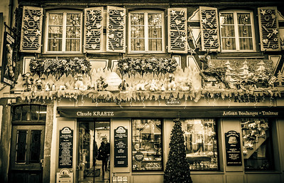 Well known bakery of Colmar.
