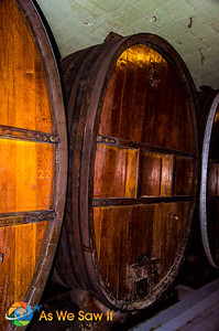 Barrell after barrel of wines fermenting to perfection