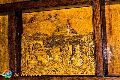 Like this carving depicting the harvest.