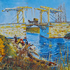 Langlois Bridge with Washerwomen - Van Gogh