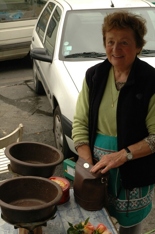 Woman Vendor - Pau, France