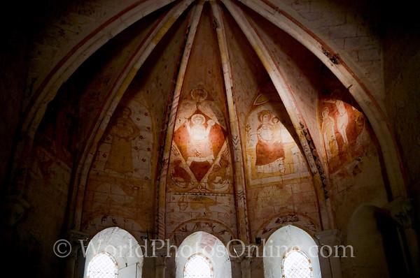 St Emillion - Chapel of the Trinity - Frescos