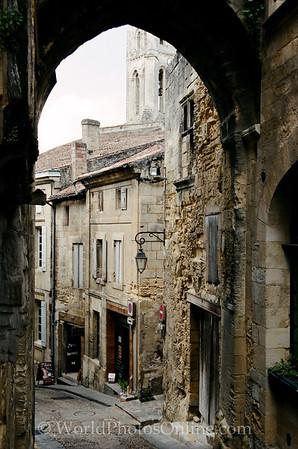St Emillion - Medieval City Gate