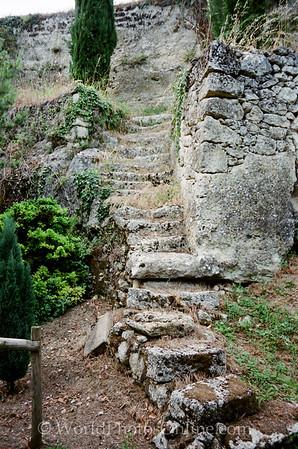 St Emillion - Steps to Hermitage of Emilian