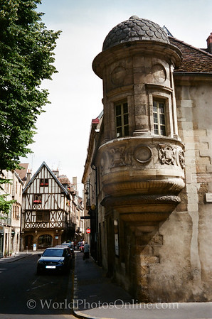 Dijon - Turreted Building