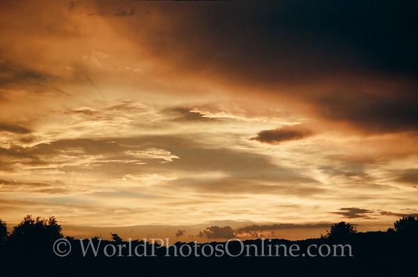 Burgundy - Sunset 1