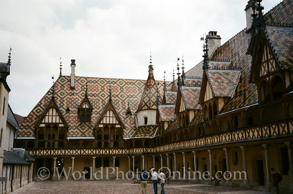 Beaune - Hospices De Beaune - Court of Honor