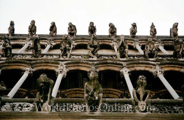 Dijon - Notre Dame Church - Gargoyles