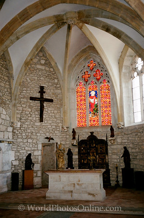 Coaches - Chateau of Marguerite - Medieval Fortress Chapel