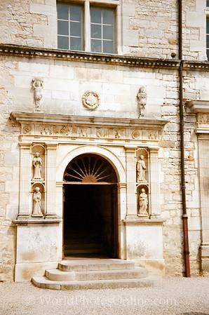 Burgundy - Chateau De Clos De Vougeot - New Entrance built in 1551 AD