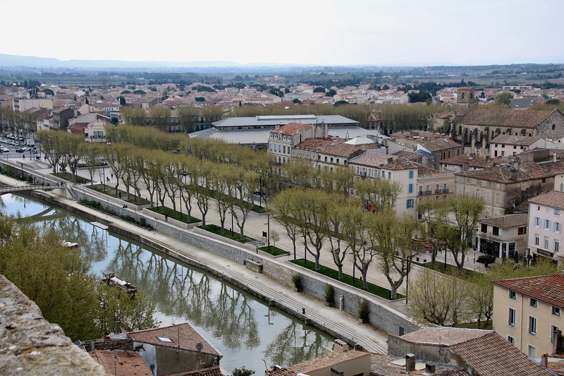 view from Archbishop's Palace - Narbonne France