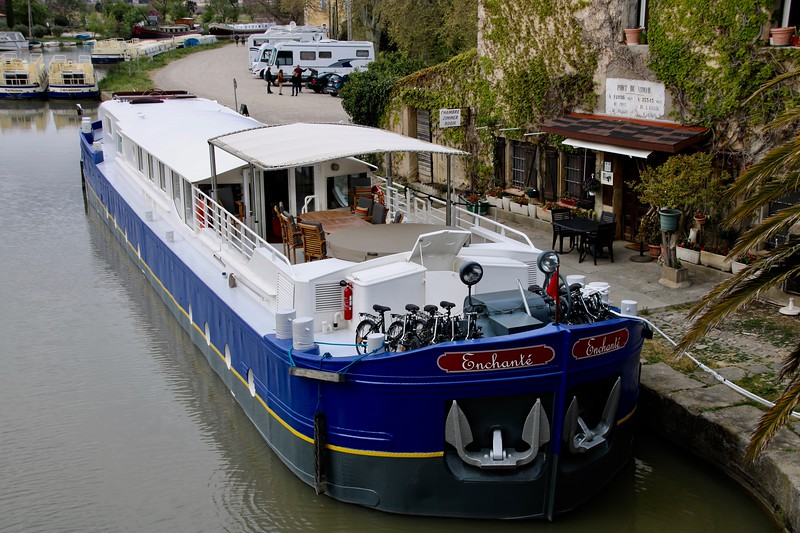Enchanté on the Canal du Midi