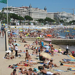Beach Front – Cannes, France – Photo
