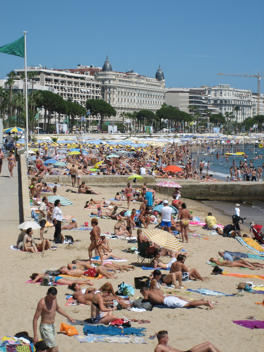 Beach Front - Cannes, France