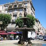 Fountain – Cannes, France – Photo