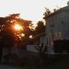 evening village stroll