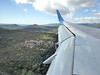 On approach to Figari Airport, Corsica