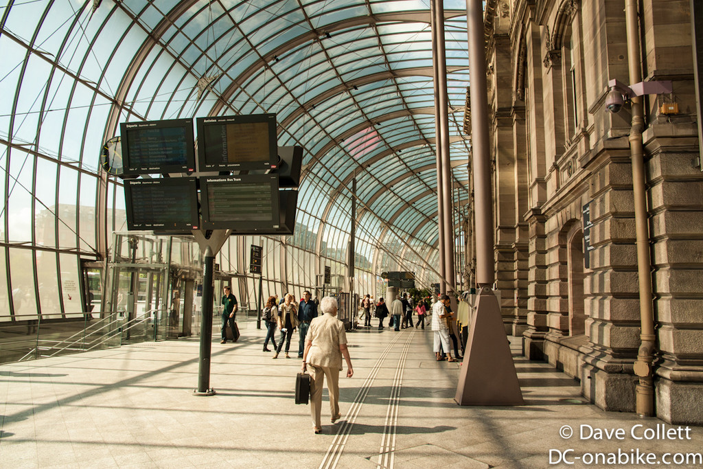 Strasbourg train station