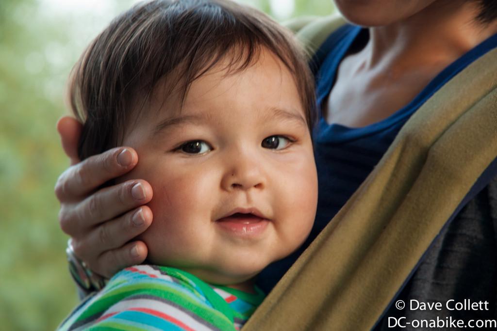Cute baby Kai!