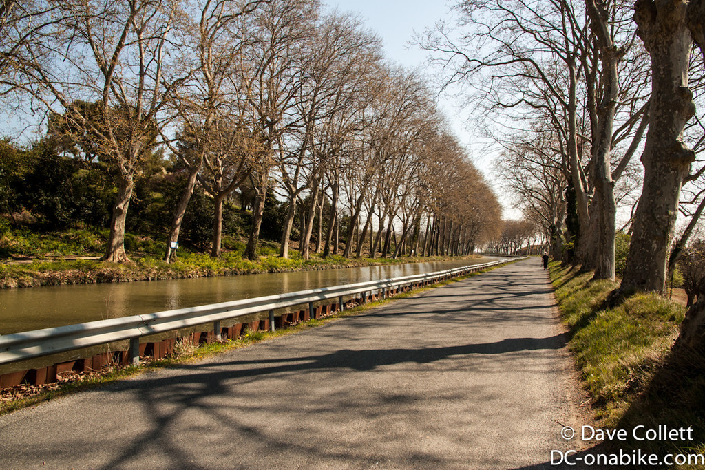 Road beside the canal