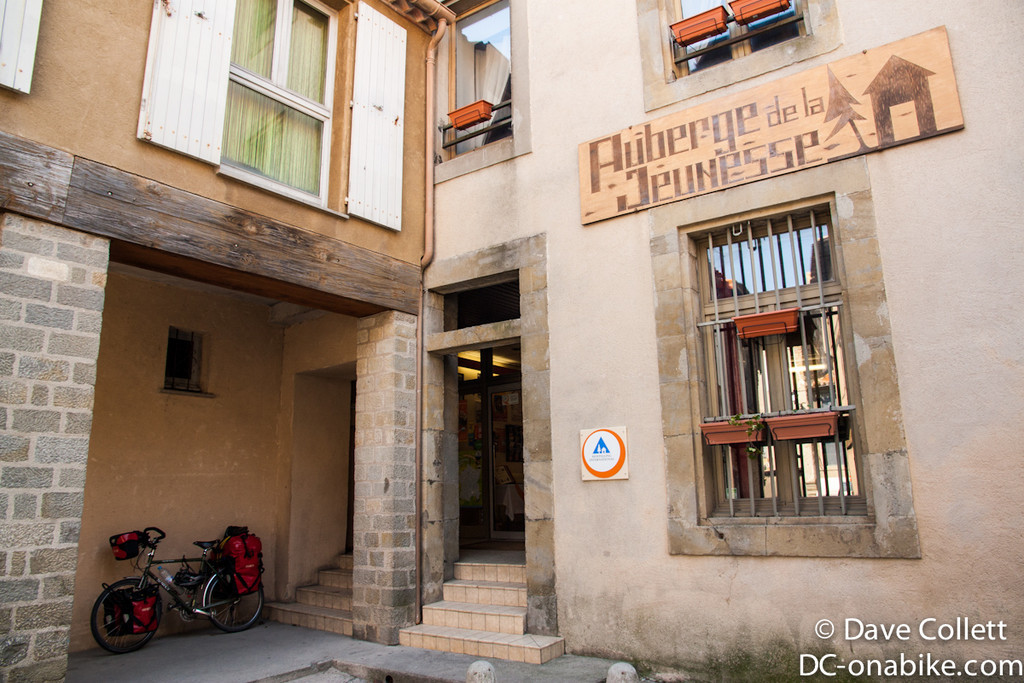 The hostel (once I found the entrance to the Cite)