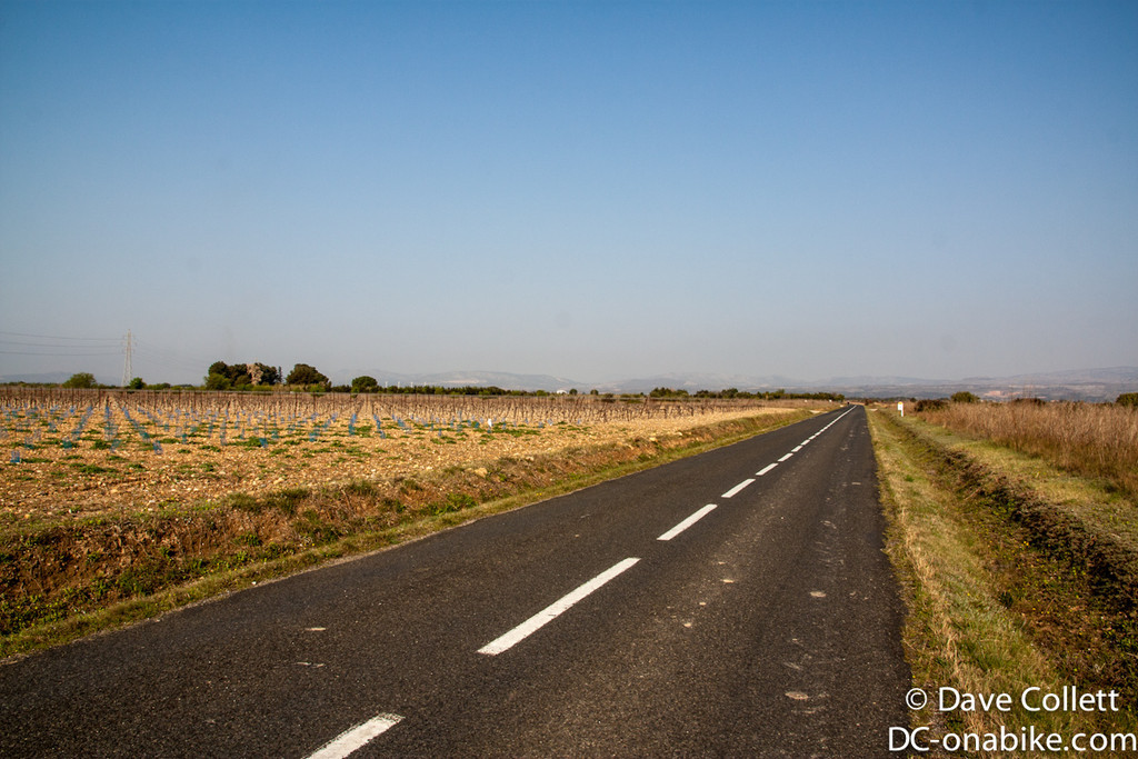Road towards Narbonne