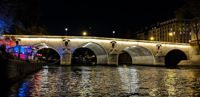 Seine night cruise views