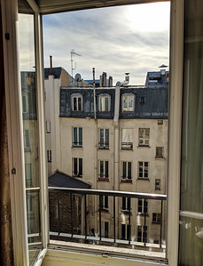 First bedroom balcony sight - Montmartre area.