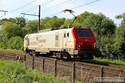 37505 heads north away from Montmelian (Southern France)  10/06/14