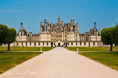 Chateau de Chambord in Southern France