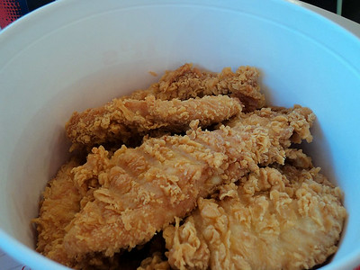 Boneless Bucket, from KFC - France  08/06/14