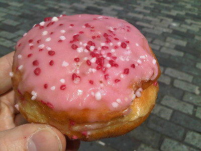 Doughnut from Warrens  02/07/14