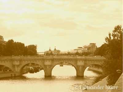 Pont Neuf, the oldest bridge in Paris -  I took this about 1390 shortly after it was built.  OK, not really.  I didn't have a camera yet.