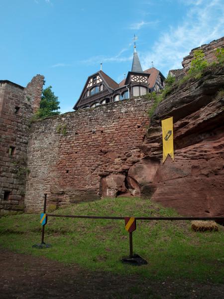 Wall of Haut-Barr