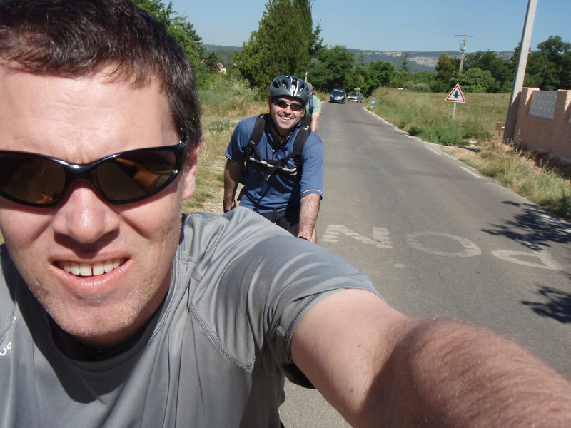 I rode without my helmet on the way up - too hot and uncomfortable.  Rental helmets...