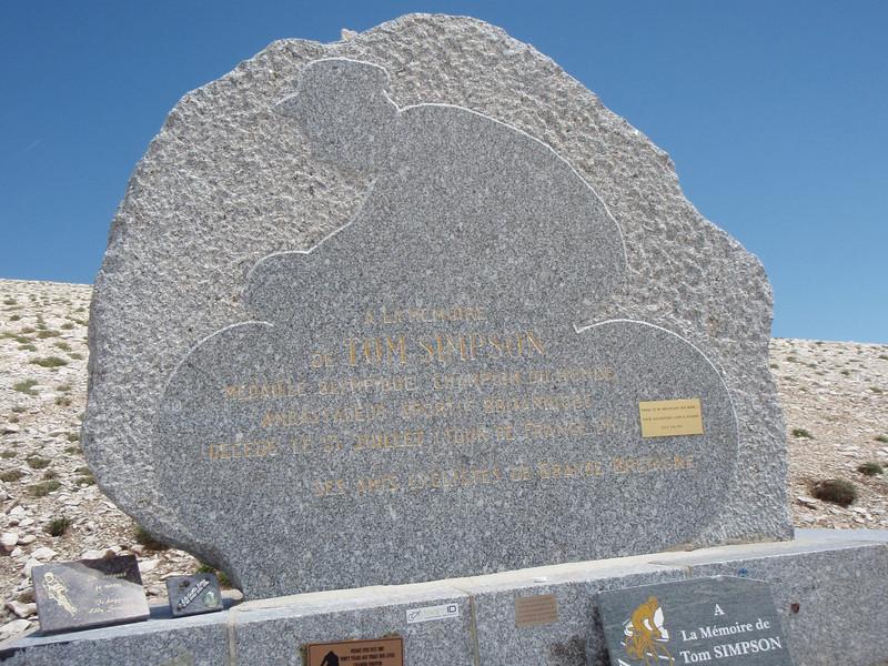 The memorial itself.