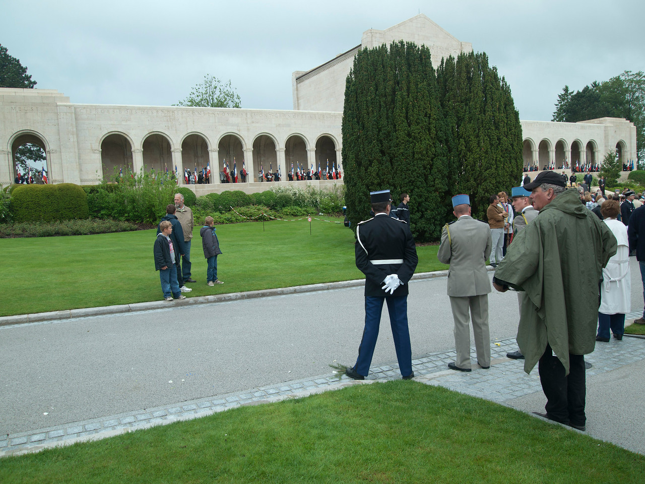 American Cemetery - Memorial Day ceremony.