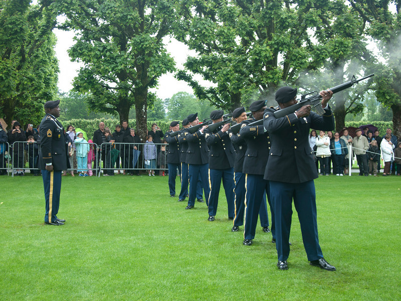21 gun salute.