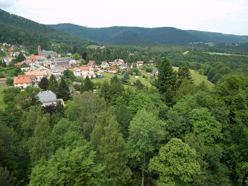 Wangenbourg itself