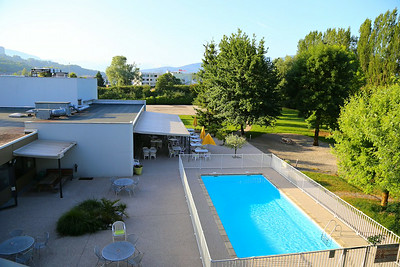 View from the Vest Western Hotel in Chambery  07/06/14