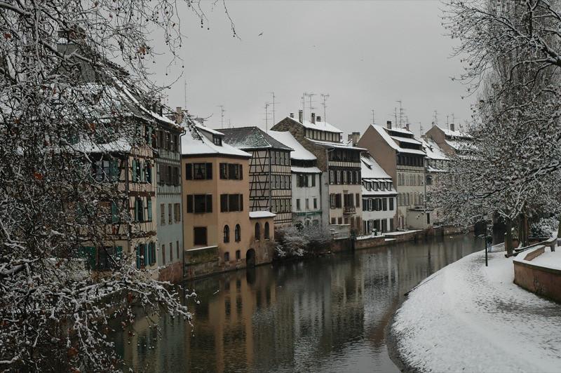 Strasbourg in Winter - France