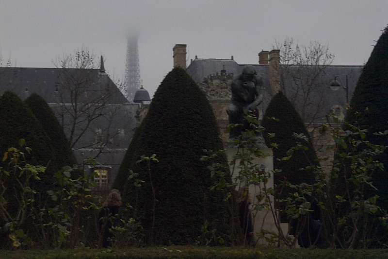 Foggy Paris - Paris, France