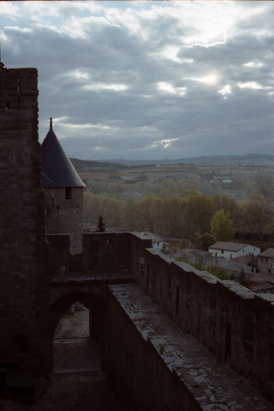 Carcassonne Castle Walls - France