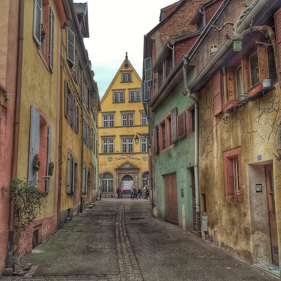 Colmar Back Streets - Alsace, France