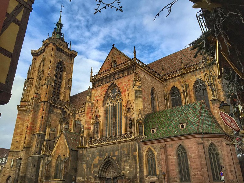 Colmar Cathedral - Alsace, France