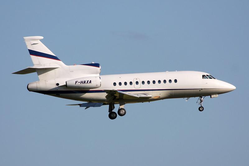 F-HAXA Dassault Falcon 900EX c/n 12 Brussels/EBBR/BRU 06-06-15