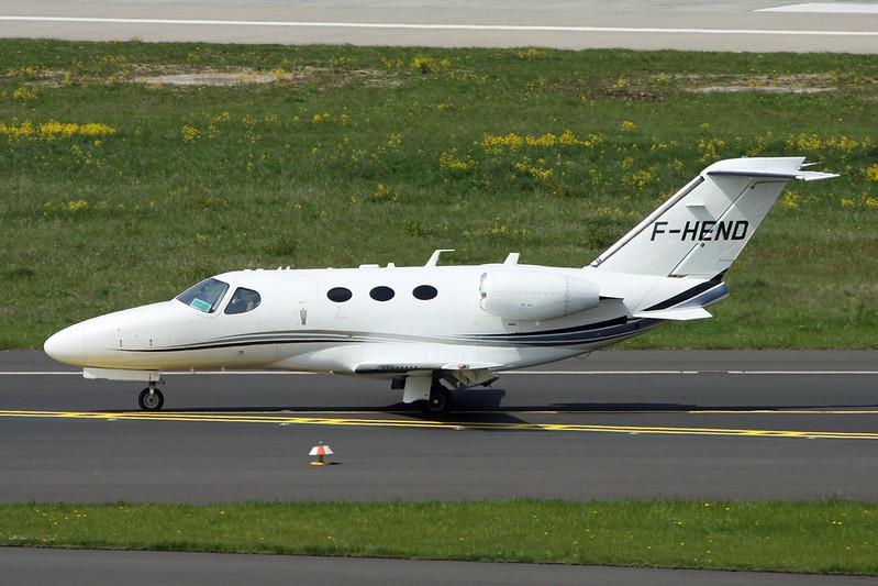 F-HEND Cessna 510 Citation Mustang c/n 510-0161 Dusseldorf/EDDL/DUS 20-04-17